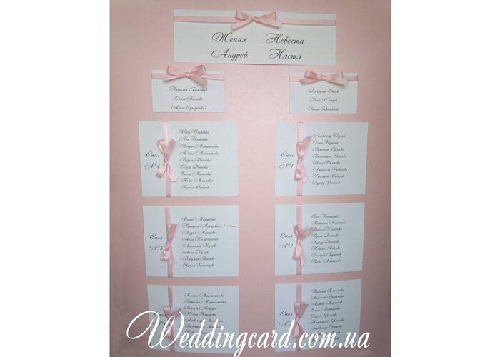 Как правильно сделать рассадку на свадьбу