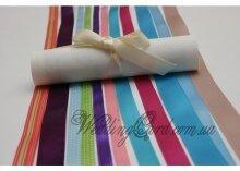 Свадебное пригласительное Белый свиток